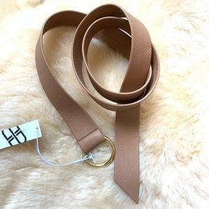 New B-low the Belt MIA belt camel tan ONE SIZE